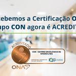 Grupo CON é certificado pela Organização Nacional de Acreditação