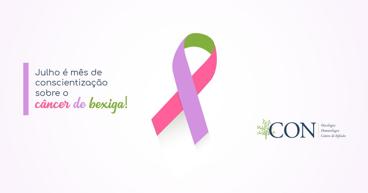Julho é o mês de conscientização e prevenção ao câncer de bexiga